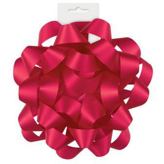 Ruby Red Color Gift Bow - Sakura Toyland, Inc