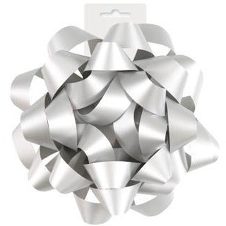Silver Color Gift Bow - Sakura Toyland, Inc