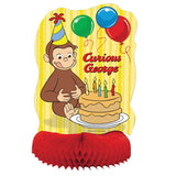 Curious George Honeycomb Decoration, 14""