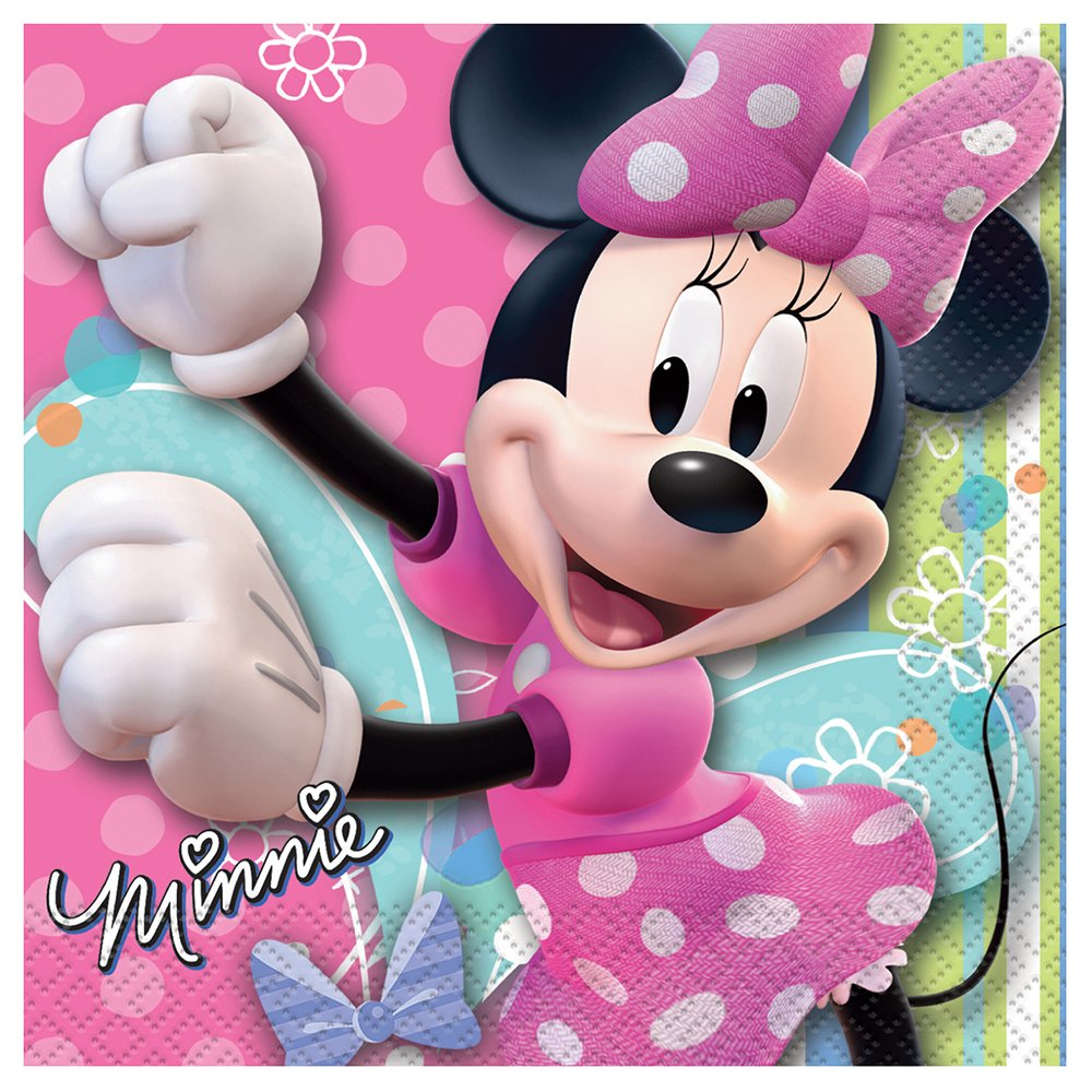 Disney Minnie Mouse Beverage Napkins, 16ct.