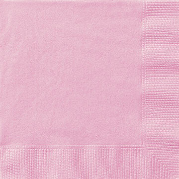 Lovely Pink Beverage Napkins - Sakura Toyland, Inc
