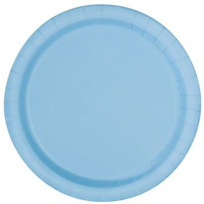"Powder Blue 7"" Plate - Sakura Toyland, Inc"