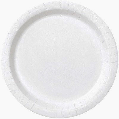 Bright White Lunch Plates, 8ct.