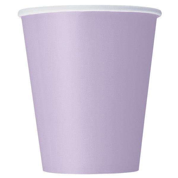 Lavender 9oz Cups, 8ct.