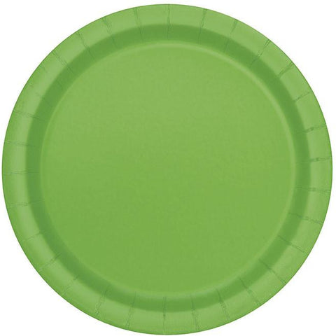 Lime Green Lunch Plates - Sakura Toyland, Inc