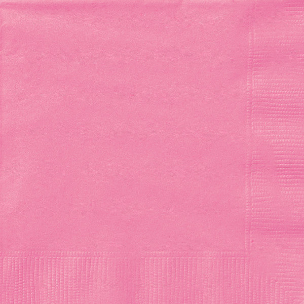 Hot Pink Lunch Napkins, 20ct.