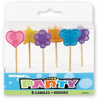 Girl Pick Birthday Candles - Sakura Toyland, Inc
