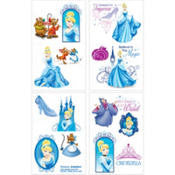 Cinderella Tattoo Sheets - Sakura Toyland, Inc