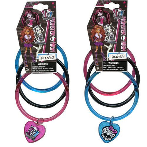 Monster High Glitter Bangles - Sakura Toyland, Inc