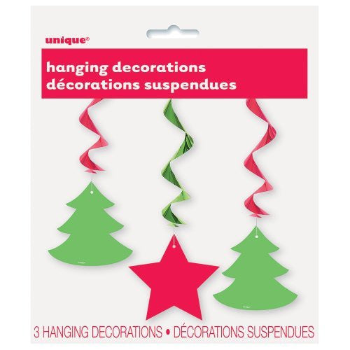 Hanging Star & Christmas Tree Decorations - Sakura Toyland, Inc