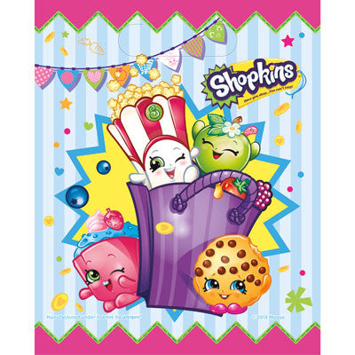 Shopkins Party Favor Bags