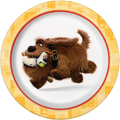 Secret Life of Pets Dessert Plates, 8ct.