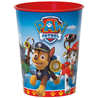 Paw Patrol Party Favor Plastic Cup