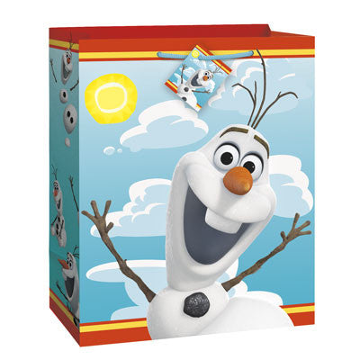 Disney Summer Olaf Large Gift Bag