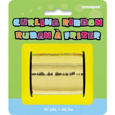 Gold Curling Ribbon - Sakura Toyland, Inc