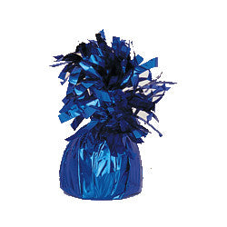 Balloon Weight Royal Blue Foil