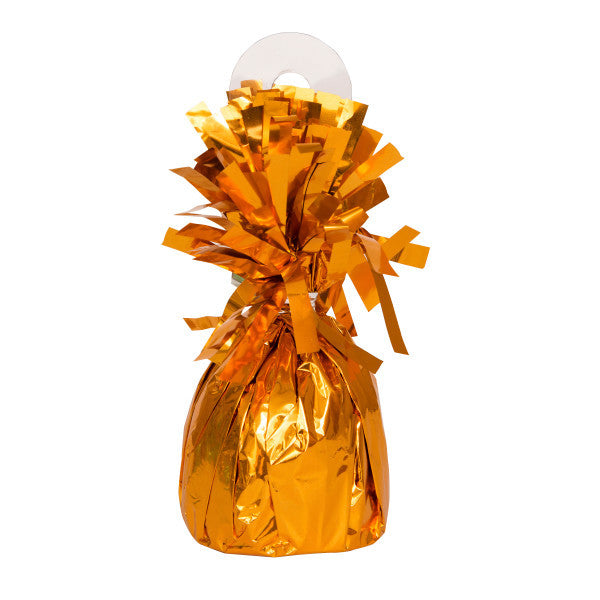 Balloon Weight Orange Foil