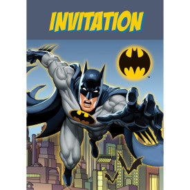 Batman Party Invitations - Sakura Toyland, Inc