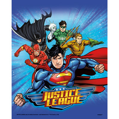 Justice League Party Favor Bags - Sakura Toyland, Inc
