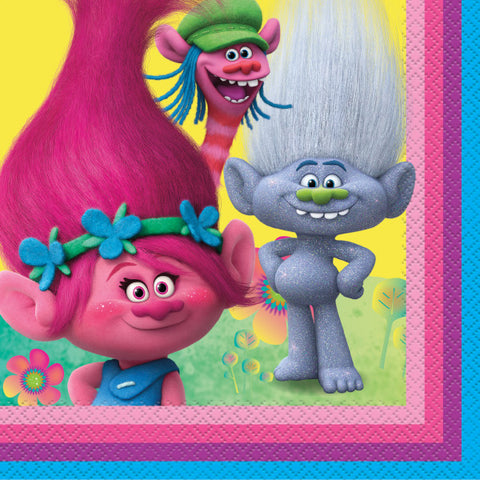 Trolls Lunch Napkins, 16ct.