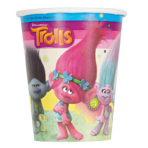 Trolls 9oz Party Cups, 8ct.