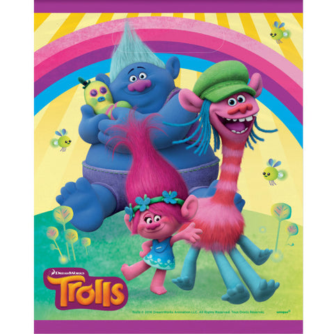 Trolls Party Favor Bags, 8ct.