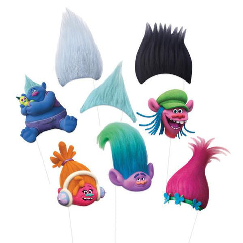 Trolls Photo Booth Props, 8ct.