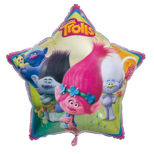 Trolls Giant Shaped Foil Balloon 34""