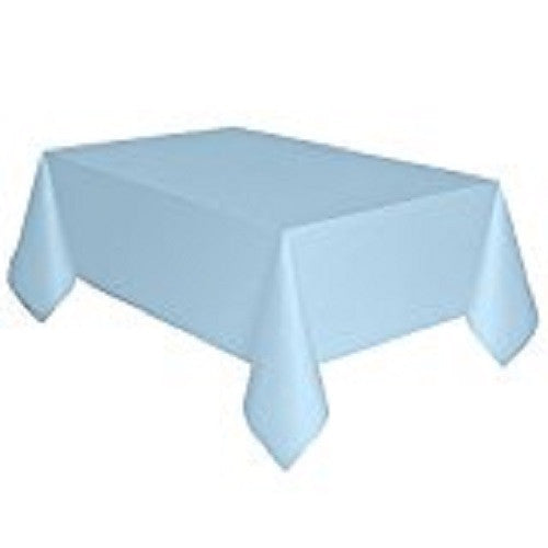 "Baby Blue Table Cover, 54""x 108"""