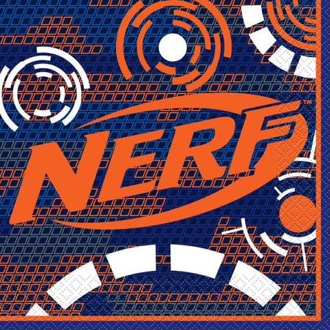 Nerf Luncheon Napkins, 16ct