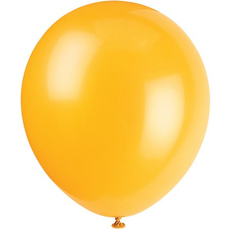 "Latex 12"" Balloons Schoolbus Yellow 72ct."