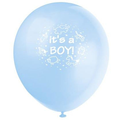 It's a Boy Blue Balloons - Sakura Toyland, Inc