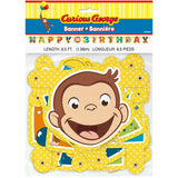 Curious George Large Jointed Banner