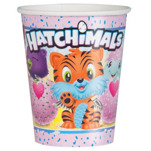 Hatchimals 9oz Paper Cups, 8ct