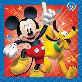 Disney Mickey Roadster Beverage Napkins, 16ct