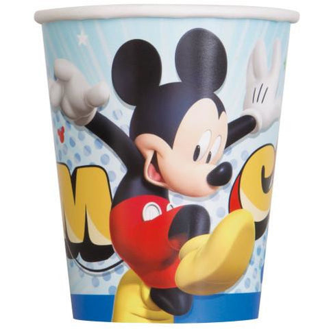 Disney Mickey Roadster 9oz Paper Cups, 8ct