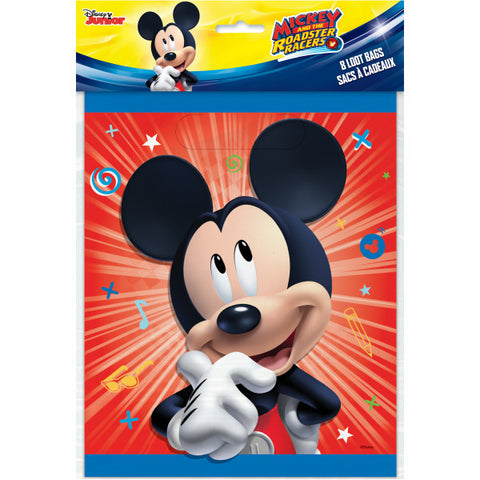 Disney Mickey Roadster Loot Bags, 8ct