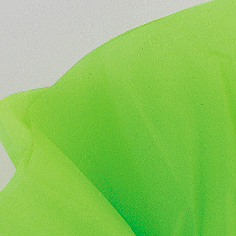 Lime Green Color Tissue Paper - Sakura Toyland, Inc