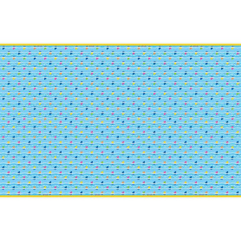 "Baby Shark Rectangular Plastic Table Cover, 54""x84"""