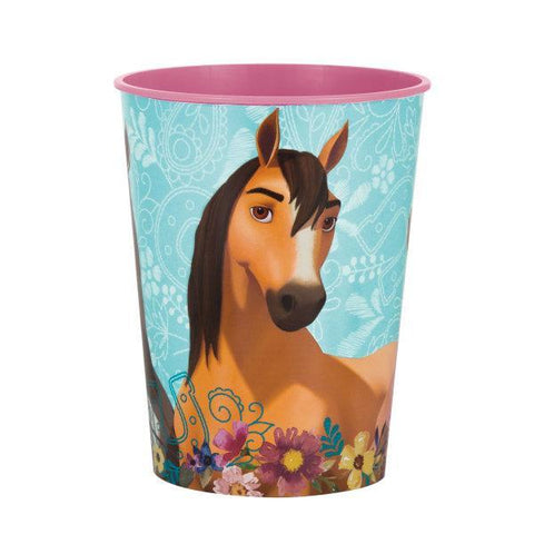Spirit Riding Free 16oz Plastic Stadium Cup