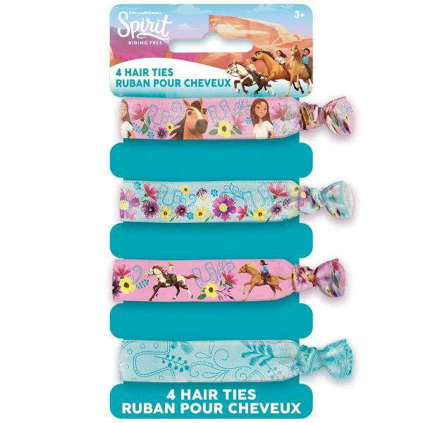 Spirit Riding Free Hair Ties, 4ct