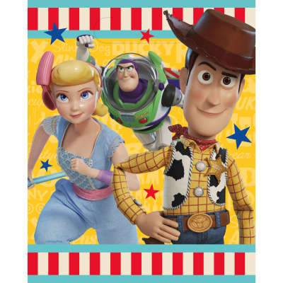 Disney Toy Story 4 Loot Bags, 8ct