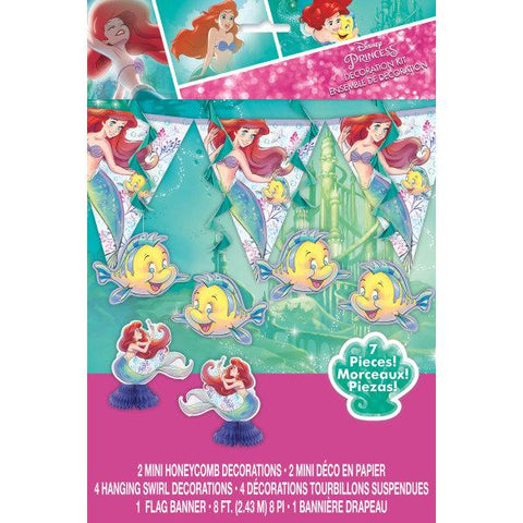 Disney The Little Mermaid Decorating Kit, 7pc