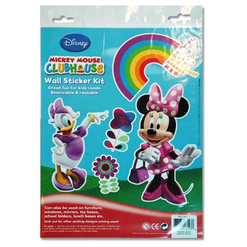 Minnie Mouse Wall Sticker Kit - Sakura Toyland, Inc