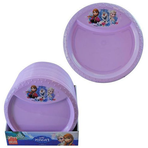 Disney Frozen Diamond Rim Plate - Sakura Toyland, Inc