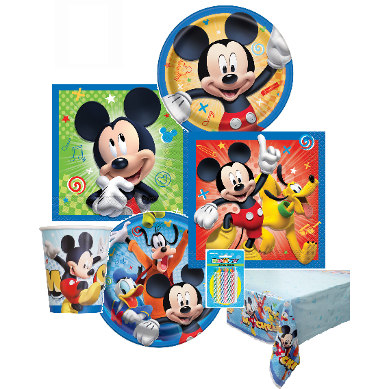 Mickey Mouse Value Kit For 8