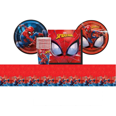 Spider-Man Tableware Set for 8 Guests