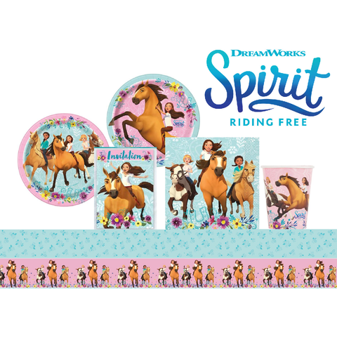 Spirit Riding Free Birthday Party Set, 8 Guests