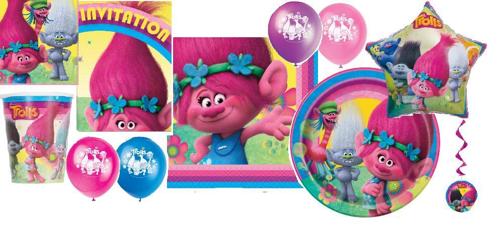 Trolls Party Supplies