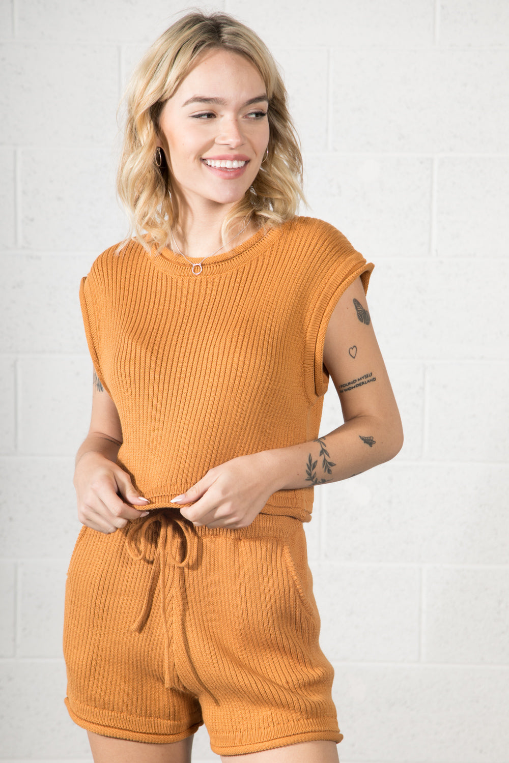 Mitzi Short Knit Top